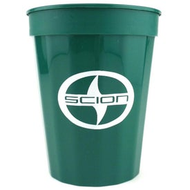 Fluted Stadium Cups (16 Oz., Screen Print)
