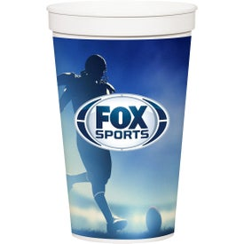 Stadium Cup (32 Oz., White)