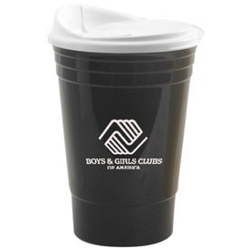 Insulated Party Cup with Lid (16 Oz.)