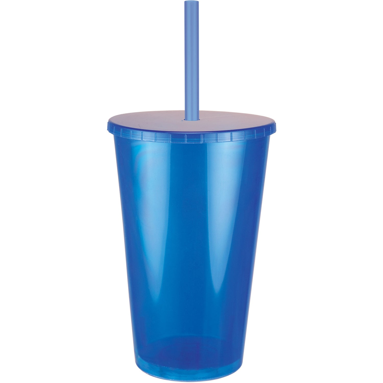 Jewel Tumbler With Lid And Straw 16 Oz Logo Drinkware