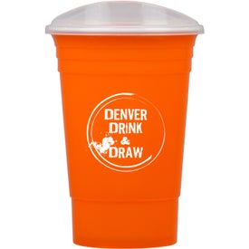 Party Cup With Lids (16 Oz.)