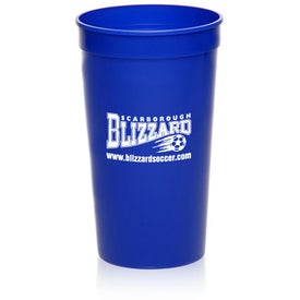Plastic Stadium Cup (32 Oz.)
