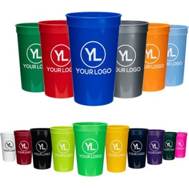 Plastic Stadium Drink Cup (22 Oz.)