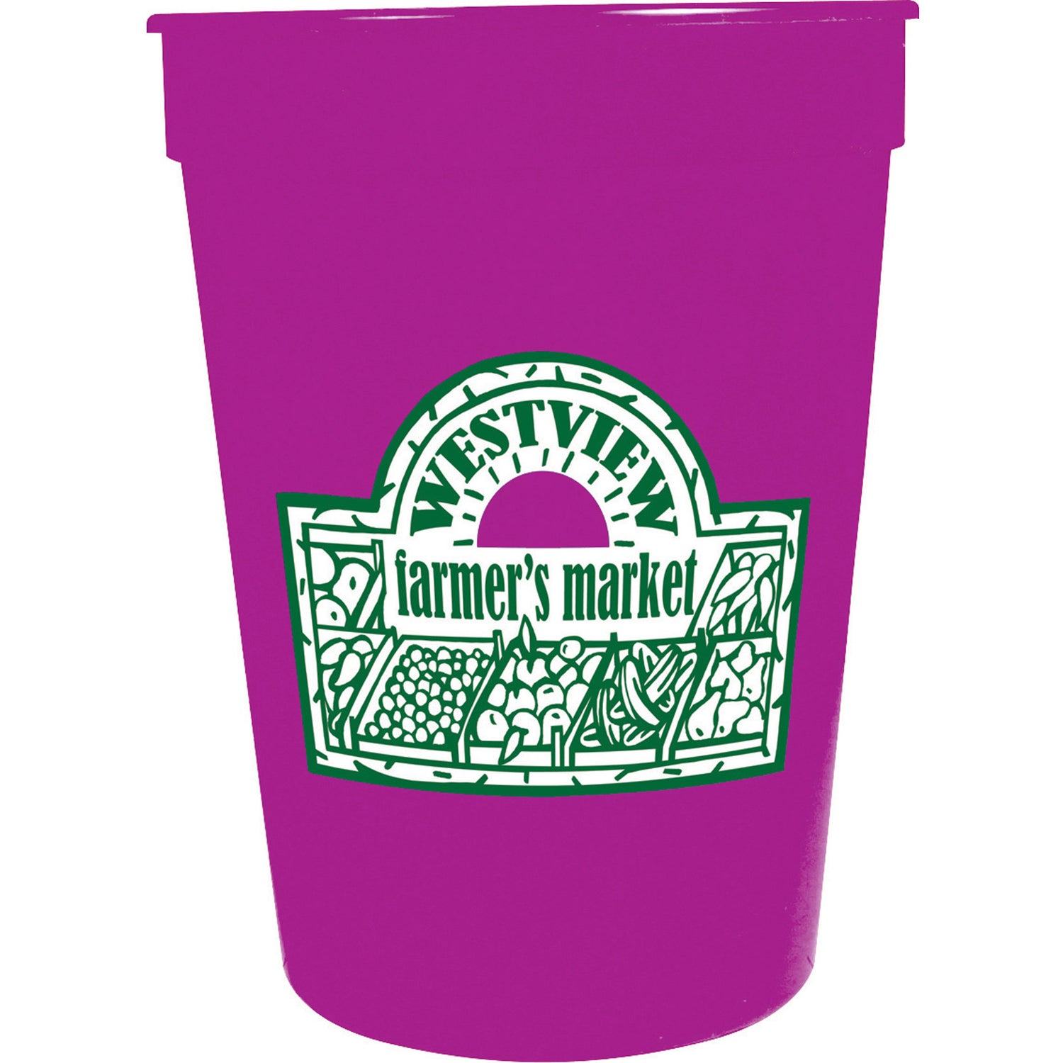 Stadium Cups 12 Oz Personalized Stadium Cups 0 42 Ea