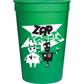 "Stadium Cup (16 Oz., 4.875"", Screen Print, 1 Location, Colors)"