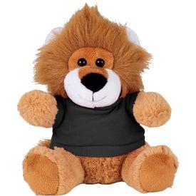 "6"" Plush Lion with Shirt"