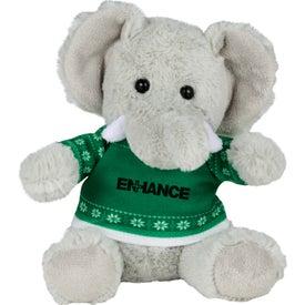 "6"" Ugly Christmas Sweater Elephant"