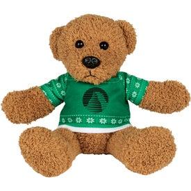 """6"""" Ugly Christmas Sweater Rag Bear"""