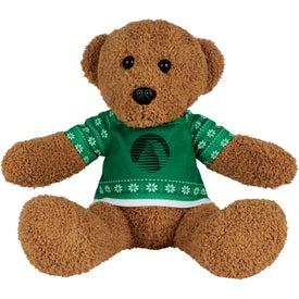 """8"""" Ugly Christmas Sweater Rag Bear"""