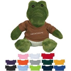 "Allie Gator Alligator Plush (6"")"