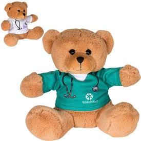 """Doctor or Nurse Plush Bear (7"""")"""