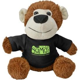 Fuzzy Friends Monkey Plush