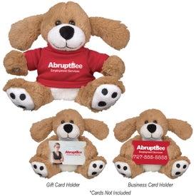 "Hold-A-Card Dominic Dog (6"")"