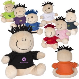 MopTopper Plush Toy with T-Shirt
