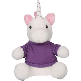 "Mystic Unicorn Plush with Shirt (8 1/2"")"
