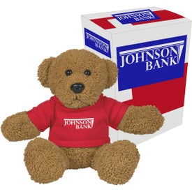 Ole Time Rag Bear Plushes with Gift Box