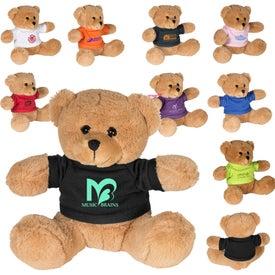 "Plush Bear with T-Shirt (7"")"