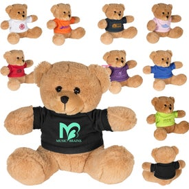 "Plush Bear with T-Shirt (7"")"