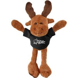 Pulley Pets Moose Plush