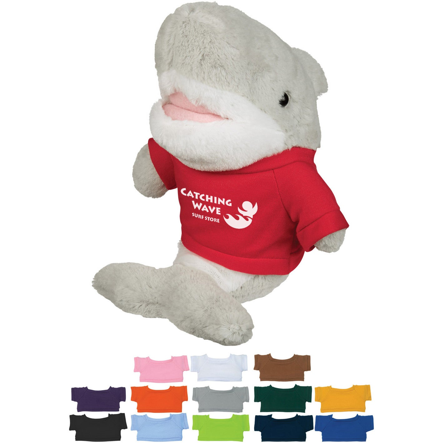 Gray Shark with Athletic Gold Shirt