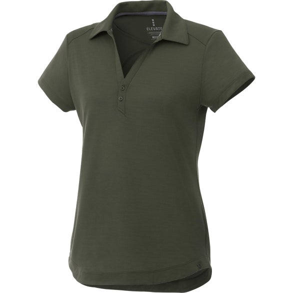 Loden Amos Eco Short Sleeve Polo Shirt by TRIMARK