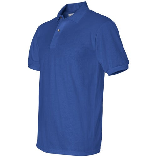 Anvil 50 50 jersey knit sport shirt embroidered polo shirts for Where are anvil shirts made