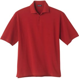 Logo Ayer Short Sleeve Polo Shirt by TRIMARK
