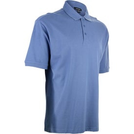 Ayer Short Sleeve Polo Shirt by TRIMARK for Advertising