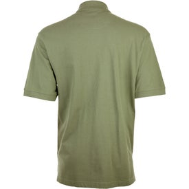 Ayer Short Sleeve Polo Shirt by TRIMARK Imprinted with Your Logo