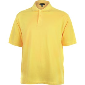 Branded Ayer Short Sleeve Polo Shirt by TRIMARK