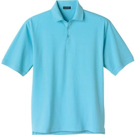 Ayer Short Sleeve Polo Shirt by TRIMARK