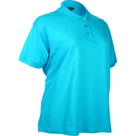 Ayer Short Sleeve Polo Shirt by TRIMARK Printed with Your Logo