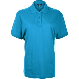 Ayer Short Sleeve Polo Shirt by TRIMARK Branded with Your Logo