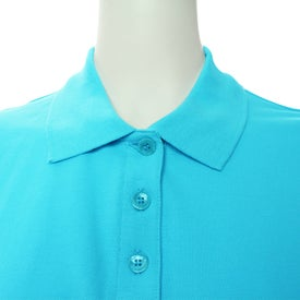 Printed Ayer Short Sleeve Polo Shirt by TRIMARK
