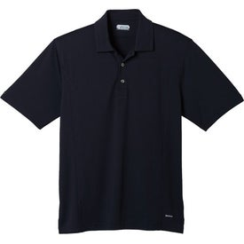 Monogrammed Banhine Short Sleeve Polo Shirt by TRIMARK