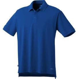 Imprinted Barela Short Sleeve Polo Shirt by TRIMARK