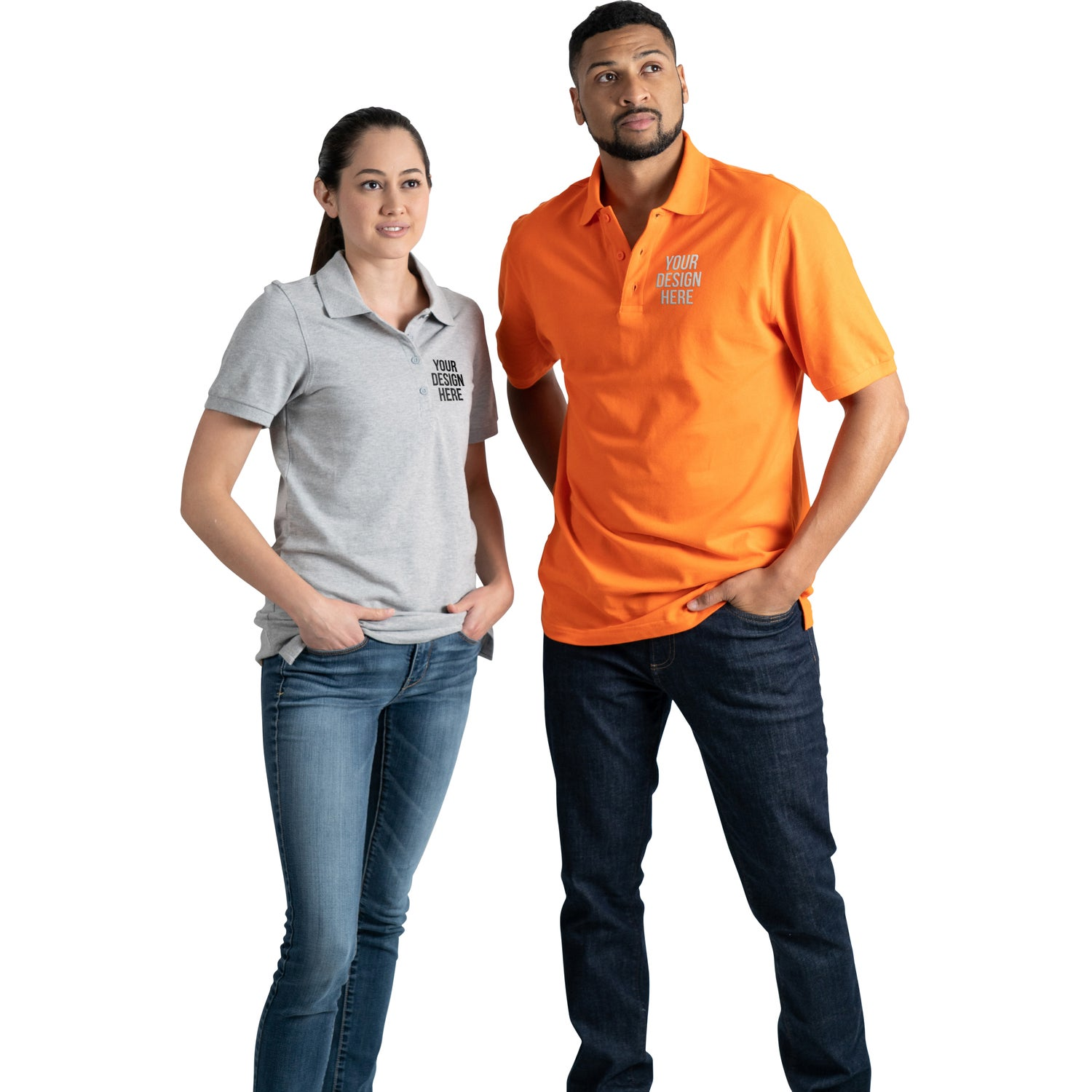 Promotional Mens Belmont Short Sleeve Polo Shirt By Trimarks With
