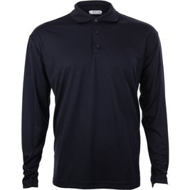 Company Brecon Long Sleeve Polo Shirt by TRIMARK