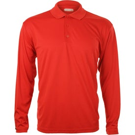 Brecon Long Sleeve Polo Shirt by TRIMARK for Your Company