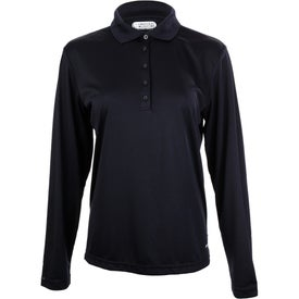 Brecon Long Sleeve Polo Shirt by TRIMARK Giveaways