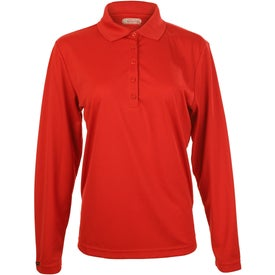 Brecon Long Sleeve Polo Shirt by TRIMARK for Your Organization