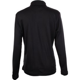 Brecon Long Sleeve Polo Shirt by TRIMARK Branded with Your Logo