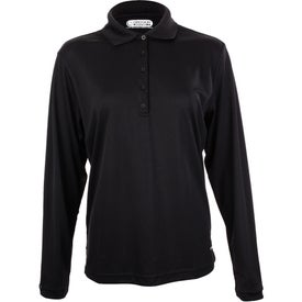 Monogrammed Brecon Long Sleeve Polo Shirt by TRIMARK