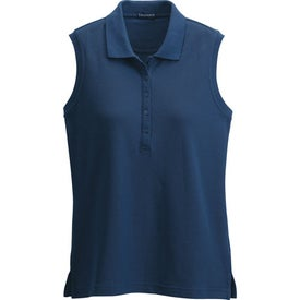 Company Brins Sleeveless Polo Shirt by TRIMARK