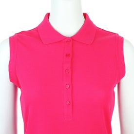 Brins Sleeveless Polo Shirt by TRIMARK for Customization