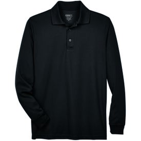 Core 365 Pinnacle Performance Piqué Polo (Men's, Long Sleeve)