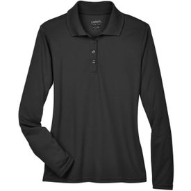 Core 365 Pinnacle Performance Piqué Polo (Ladies', Long Sleeve)