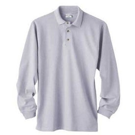 Cotton Deluxe Long Sleeve Polo