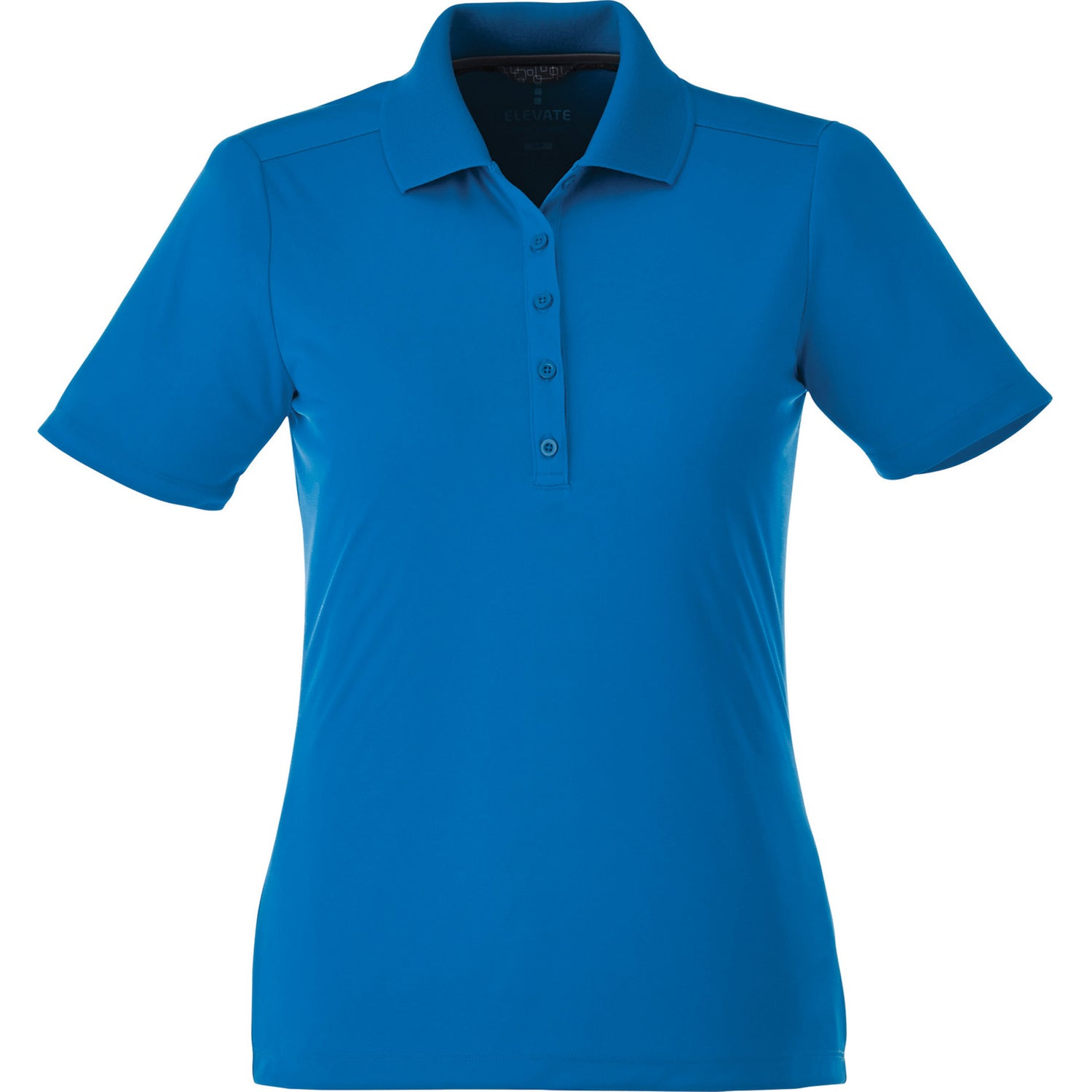 Dade short sleeve polo shirt by trimark women 39 s for Quality polo shirts with company logo