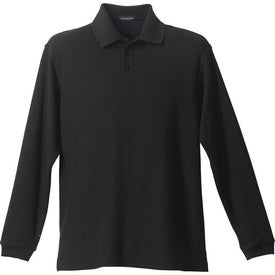 Company Donner Long Sleeve Polo Shirt by TRIMARK